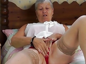 EuropeMaturE Grandma Attracting Matchless Compilation