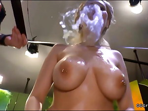 Busty chessie kay loves cumshots and cum drinks