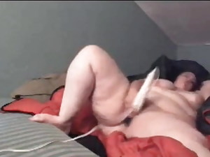 Plumper Mom with Thick Thighs has multiple Orgasms