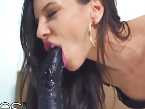 big ass stunning milana ricci in hot lingerie satiates munch