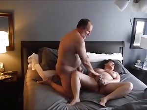 Canadian couple masturbating