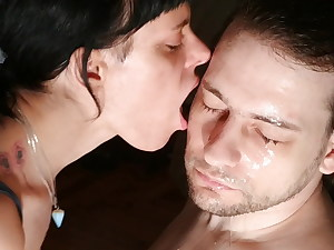 Sweet girl licks her stepdaddy's face pt2 HD – supah dirty