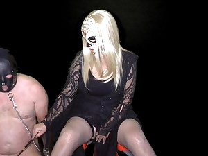 Domme Terie's CFNM Female domination Licking Chair